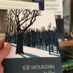 Ice Mountain the book in the hand of Matt Swayne from Instagram