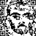portrait of the artist as a QR code