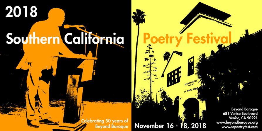Southern California Poetry Festival poster
