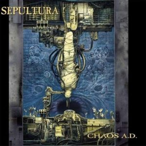 cover of Sepultura album Chaos AD