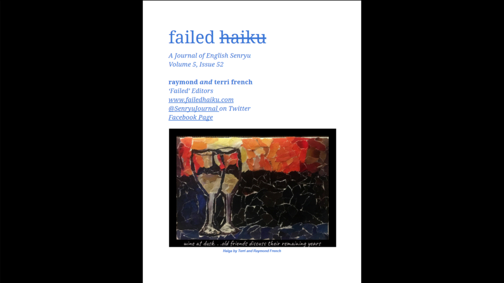 cover of Failed Haiku Issue 52
