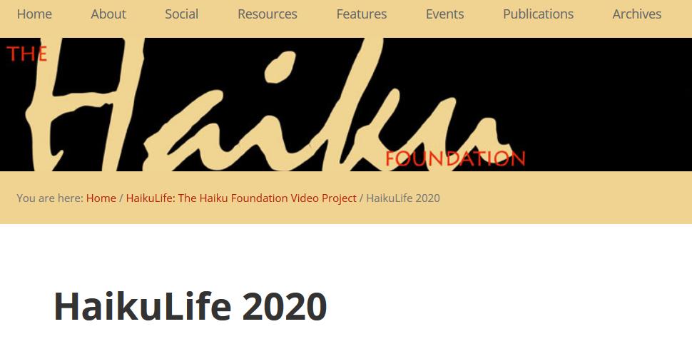 HaikuLife 2020 banner