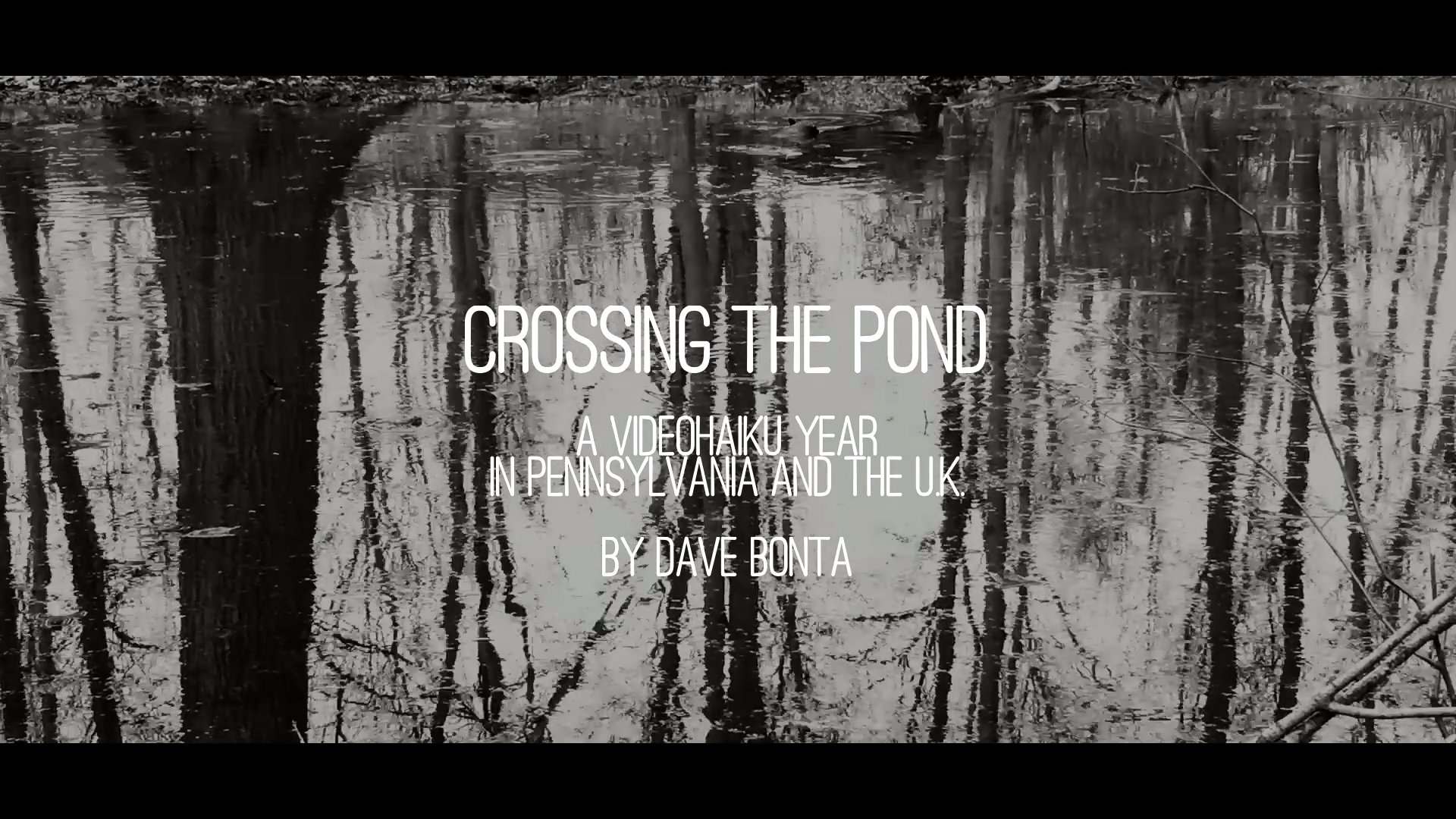 Crossing the Pond title screen